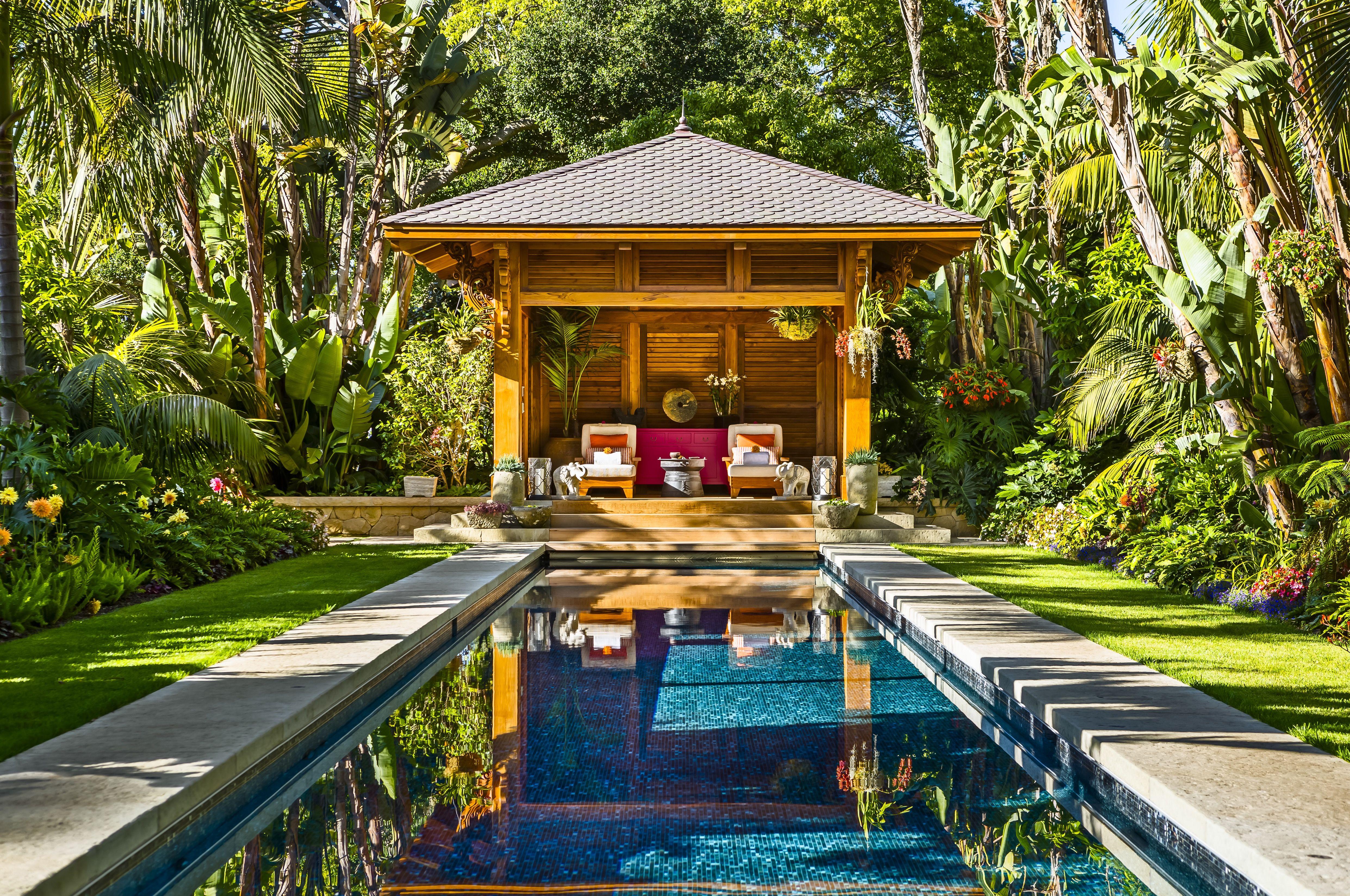 tropical home garden for a hot style → 4fa