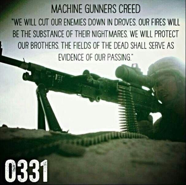 Usmc 0331 infantry machine gunner. | Tattoos | Pinterest | USMC