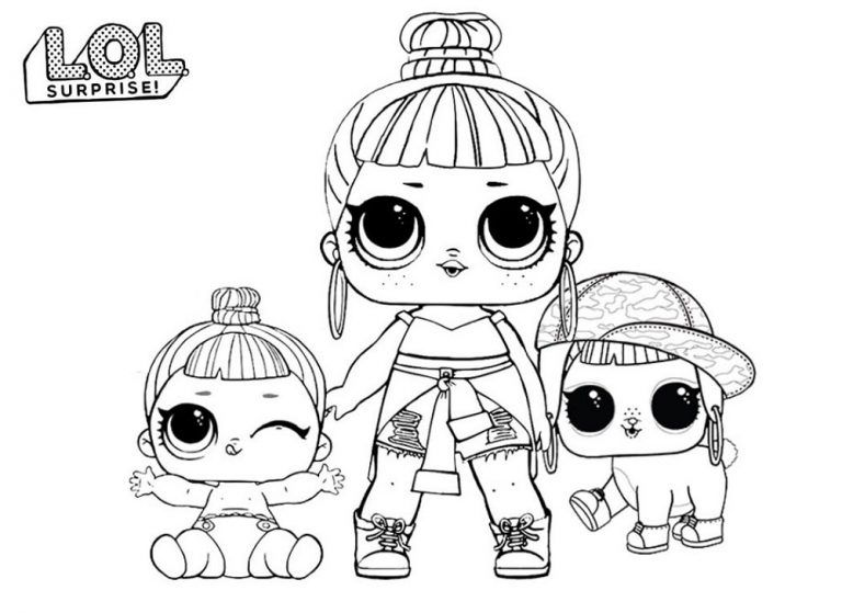Lol Dolls Coloring Pages Babies 101 Worksheets Lol Dolls Coloring Pages Halloween Coloring