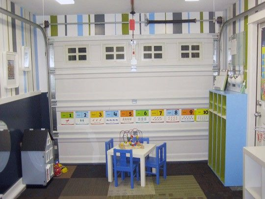 Use The Extra Space In Your Garage For Your Kids To Stretch Turn