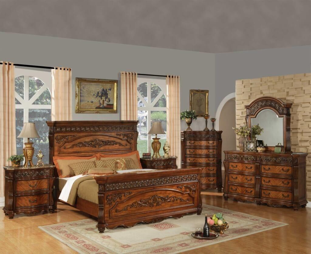 Best Beautiful Traditional Oak Bedroom Furniture Sets Bedroom 400 x 300