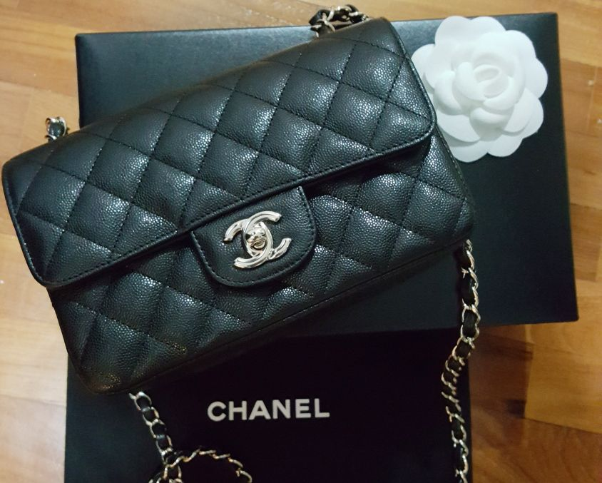 70ea528ec2535c Shopping With Sue: Chanel Mini Rectangle Classic Flap Bag | Too many ...