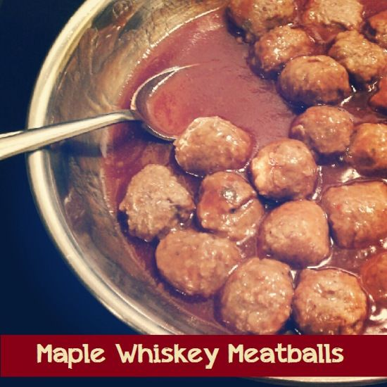 Maple whiskey meatballs double this recipe and you have a wonderful maple whiskey meatballs double this recipe and you have a wonderful party appetizer has forumfinder Images