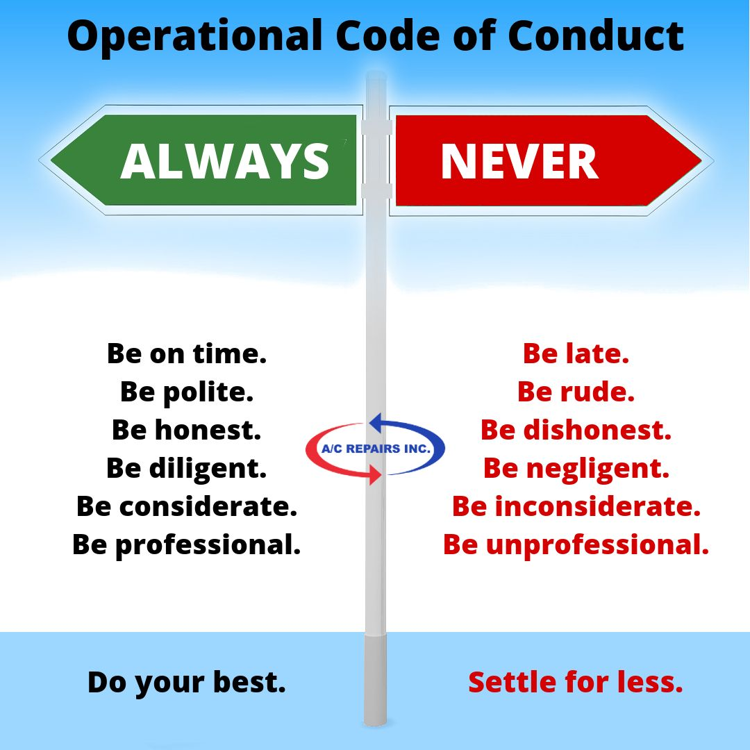 Code of conduct, Coding, Workplace