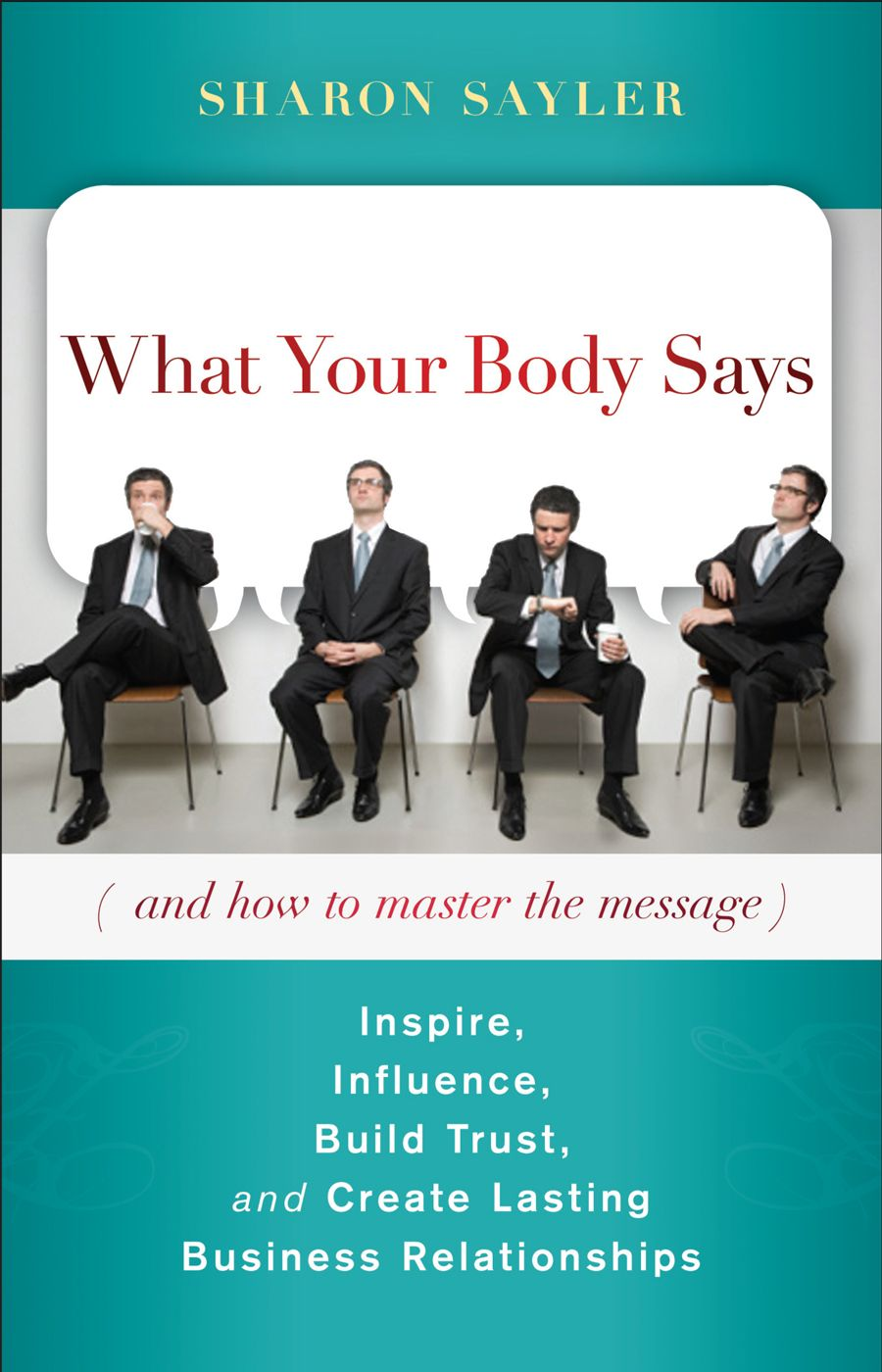 What our body says is the message table 9