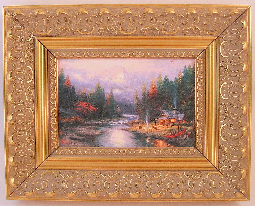 Details about Thomas Kinkade The End of a Perfect Day II Framed ...