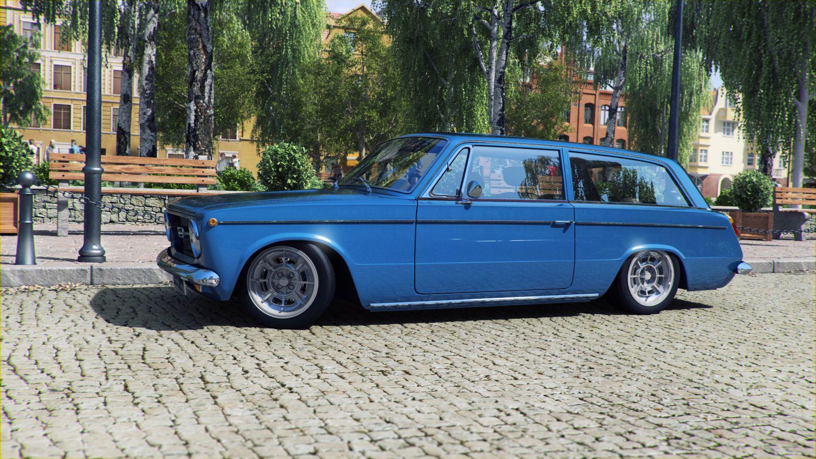 Fiat Wagon Classic Muscle Cars Pinterest Fiat