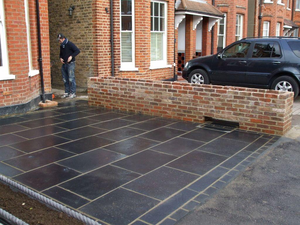 Click to close paving pinterest limestone patio for Garden designs paving slabs