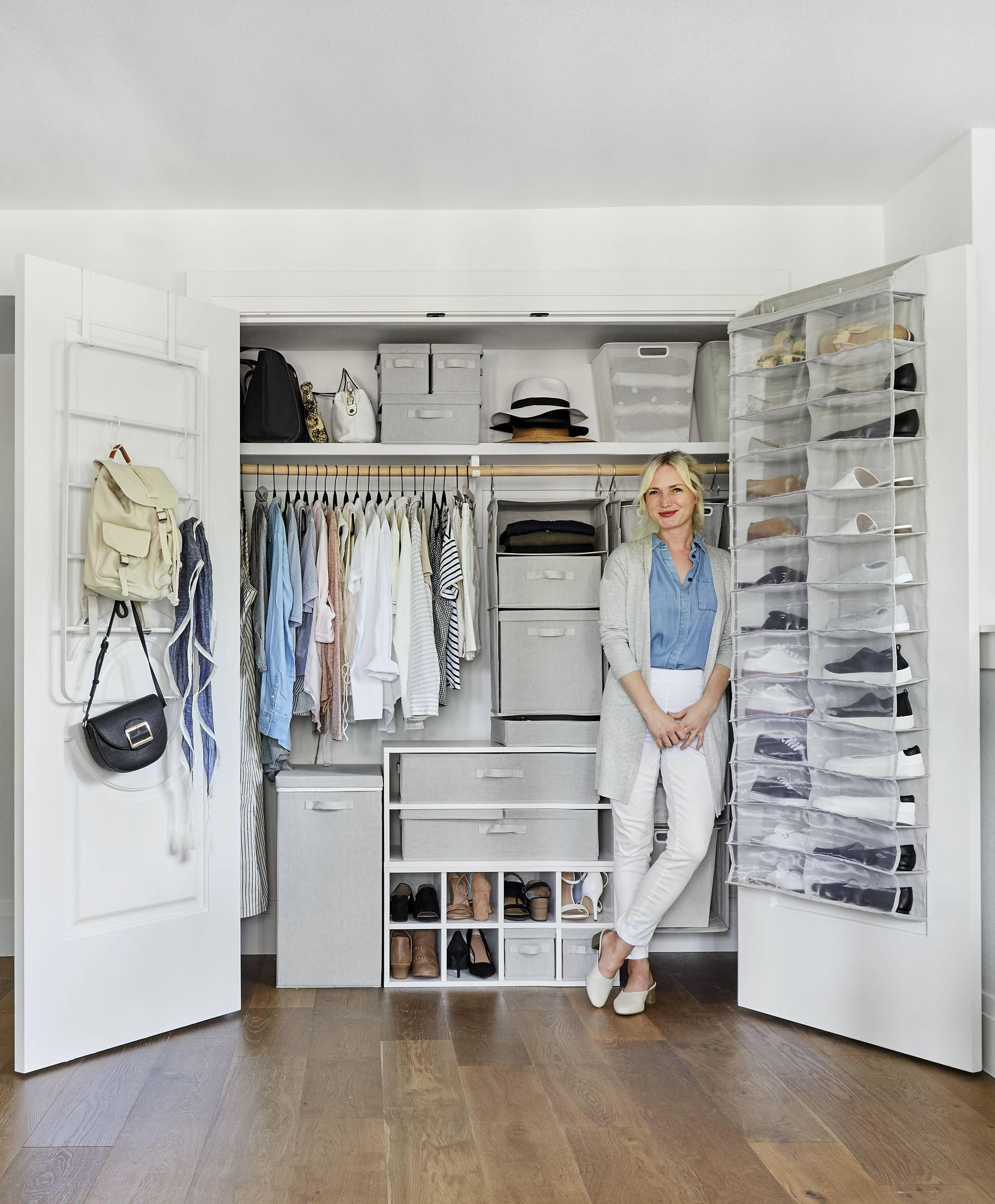 Genius Closet Organizing Ideas From Target S New Made By Design Line Made By Design Closet Bedroom Closet Organization