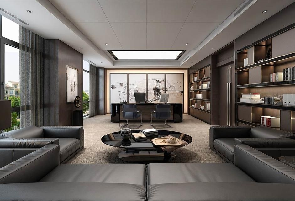 3d Interior Directorroom 7 Scenes File 3dsmax Model Free Dowload Executive Office Design Interior Office Interior Design Modern Office Design