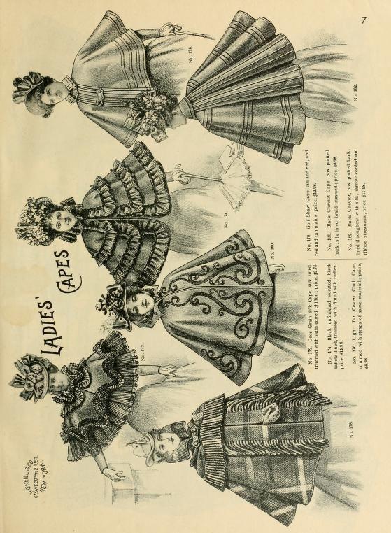 1898 H. O'Neill & Co. Spring & summer fashion catalogue.