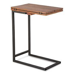 narrow footprint side table ikea - Google Search
