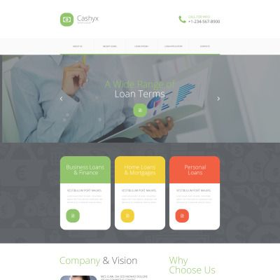 Money Lander Website Template Pinterest Template Website And Logos