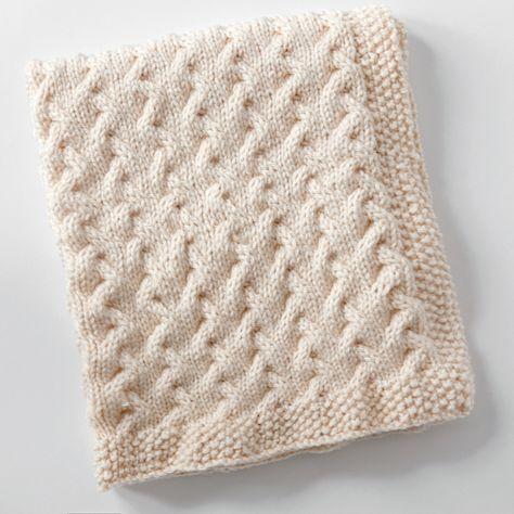 Tiny Ripples - Free Baby Blanket Knitting Pattern | knitting ...