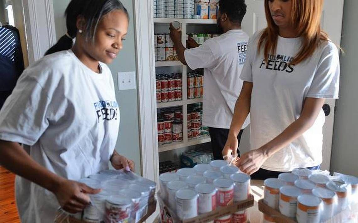 JCSU feeds the hungry Fayetteville state, South carolina