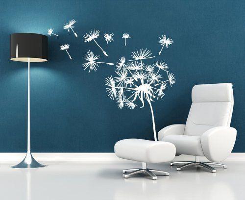 ufengke® 108-pezzi piccoli fiori e farfalle adesivi murali, camera ... - Stencil Muro Camera Da Letto