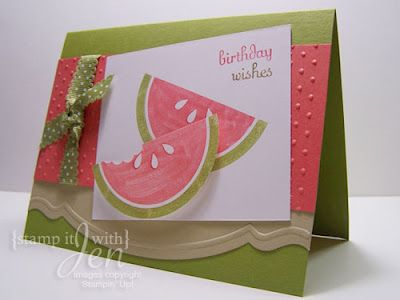 Yummy Watermelon Birthday Carduld Also Be Inspiration For