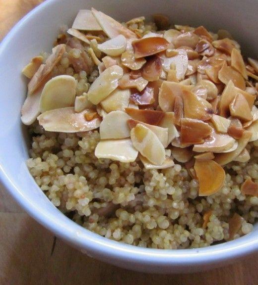 Ayurvedic Figgy Almond Quinoa Hot Cereal