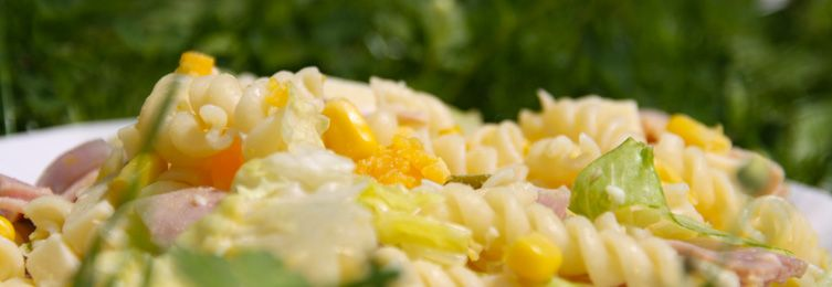 Les salades de pates