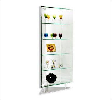 Chintaly 6650 Corner Curio Cabinet