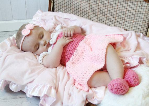e32e6934687f9 Sleeping Princess Costume,Baby Princess Dress,Shoes, bow headband 3 ...