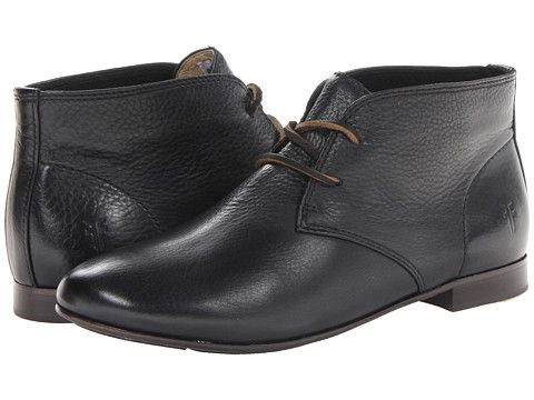 81b410af1e4 Frye Jillian Chukka Black Soft Vintage Leather - Zappos.com Free ...