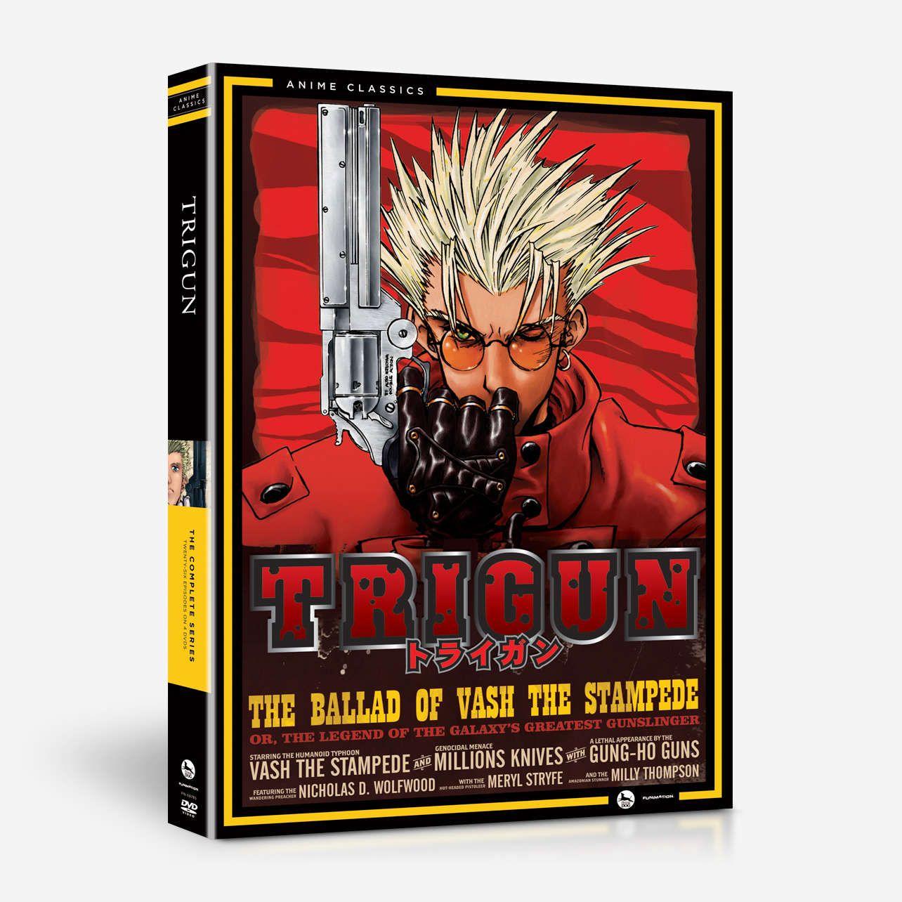 Trigun The Complete Series Anime Classics HomeVideo