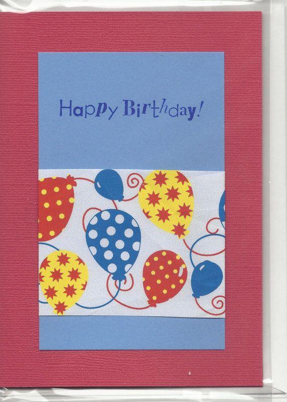 handmade greeting card birthday dad embellished