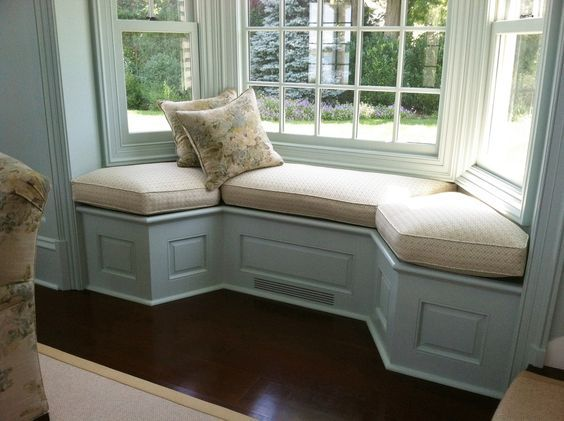 Window Seat Curved Bench Seating Kitchen Window Seat Kitchen Bay Window Seat