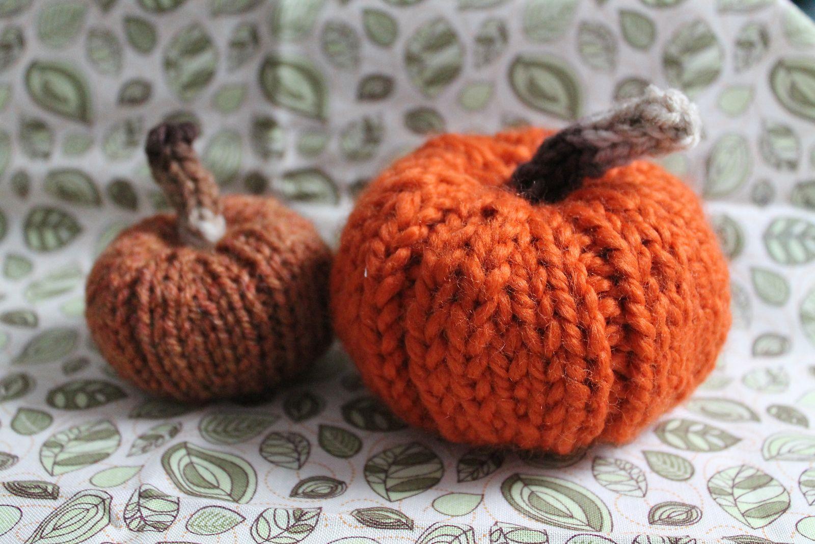 Ravelry: Mini Pumpkin Knitting Pattern pattern by Kristin ...