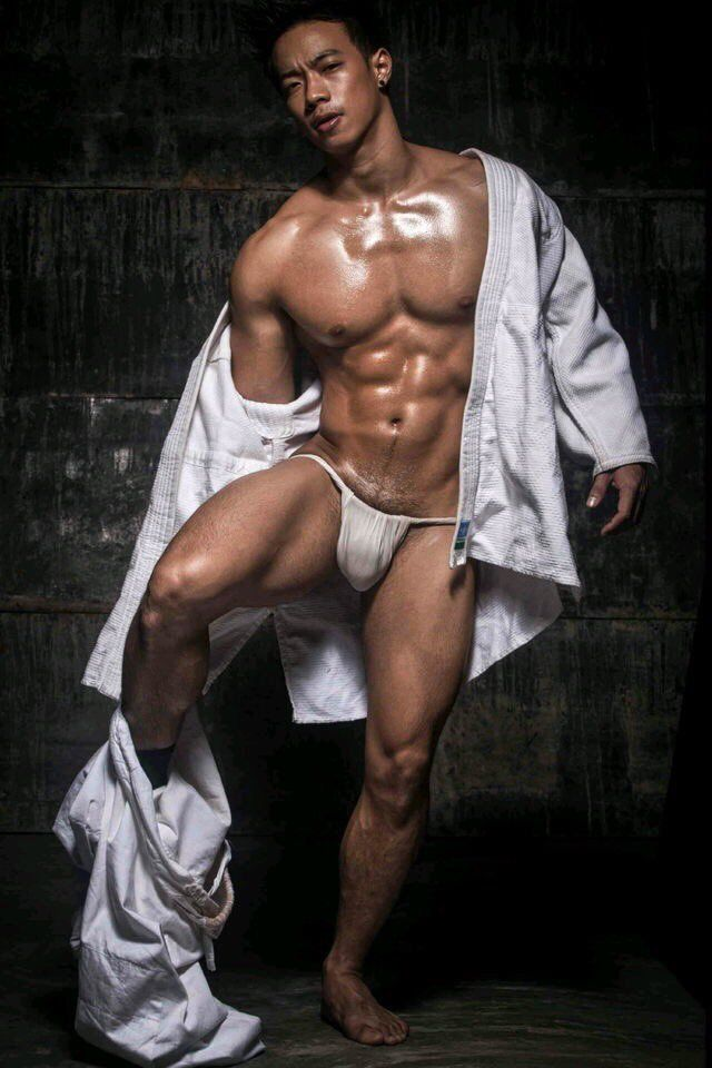 Fundoshi japanese guy