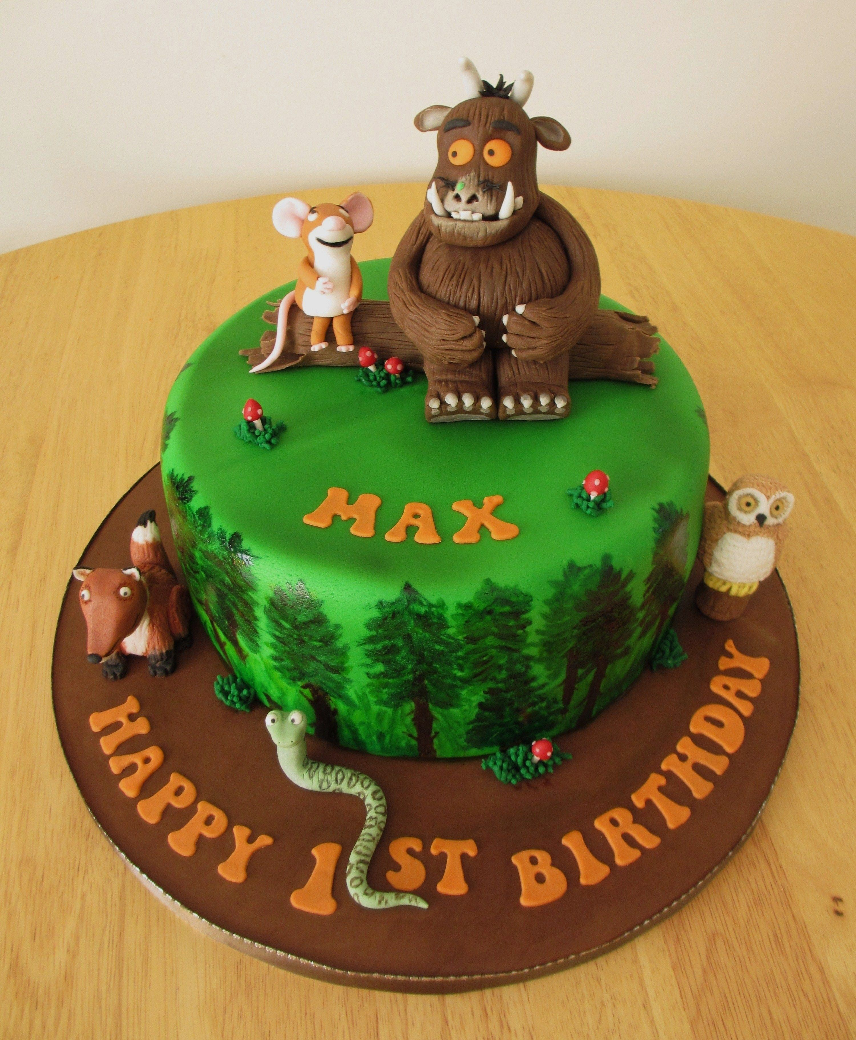 Cool Gruffalo Cake Doesnt Have To Be For A Birthday Would Make A Funny Birthday Cards Online Hendilapandamsfinfo