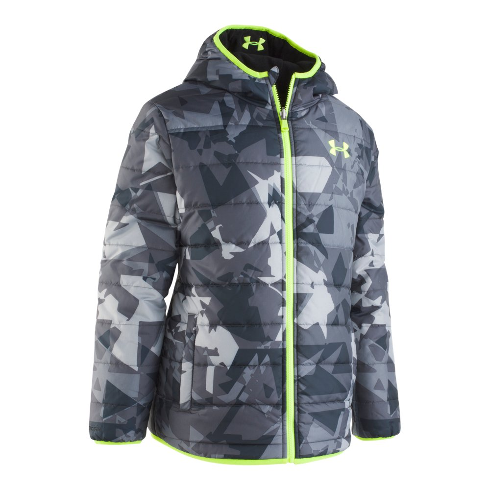 Boys' Toddler UA Printed Reversible Pronto Puffer Jacket
