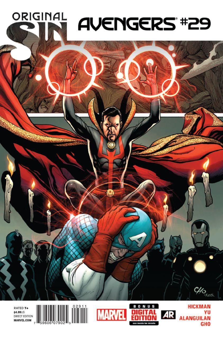 Avengers #29 - Infinite Avengers (Issue)