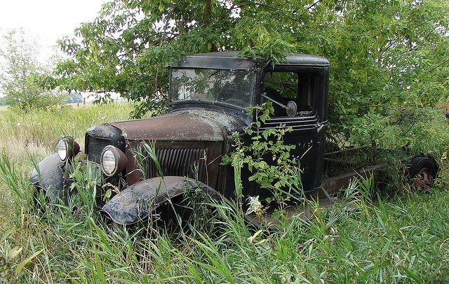 Abandoned Truck Cars and trucks Pinterest Abandoned and Trucks