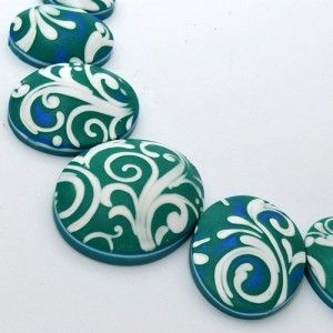 Polymer clay/ FIMO necklace