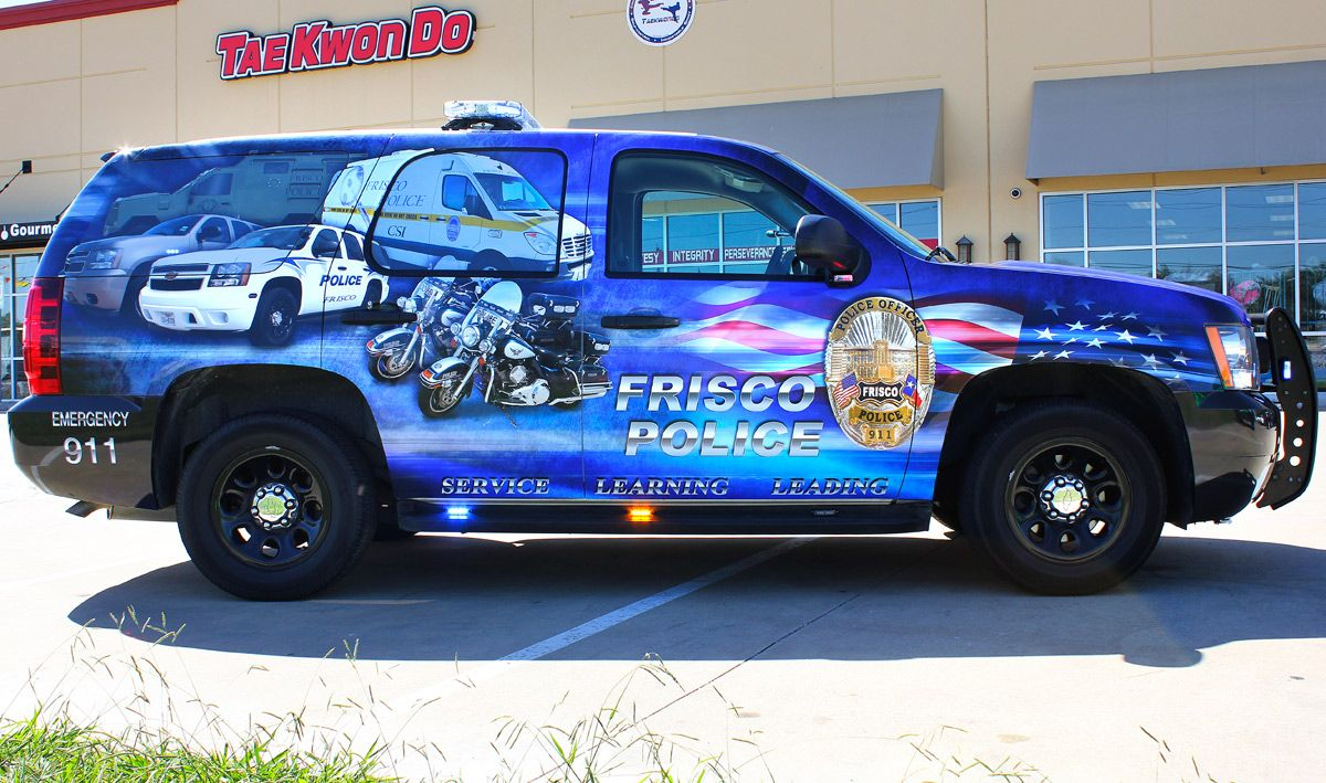 Police Car Graphics Wraps Zilla Wraps Police Cars Police Truck Old Police Cars