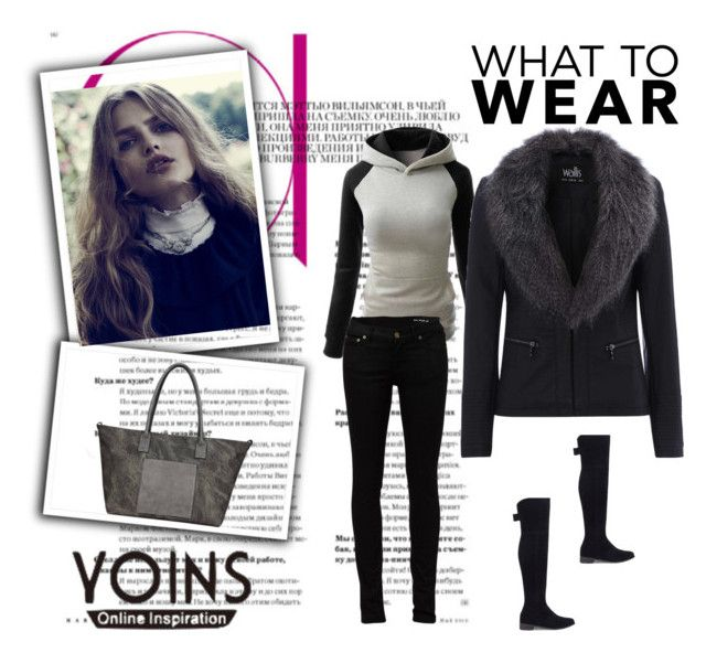 """""""yoins 36"""" by bsenid ❤ liked on Polyvore featuring Yves Saint Laurent, women's clothing, women, female, woman, misses, juniors, MustHave, fall2015 and yoins"""