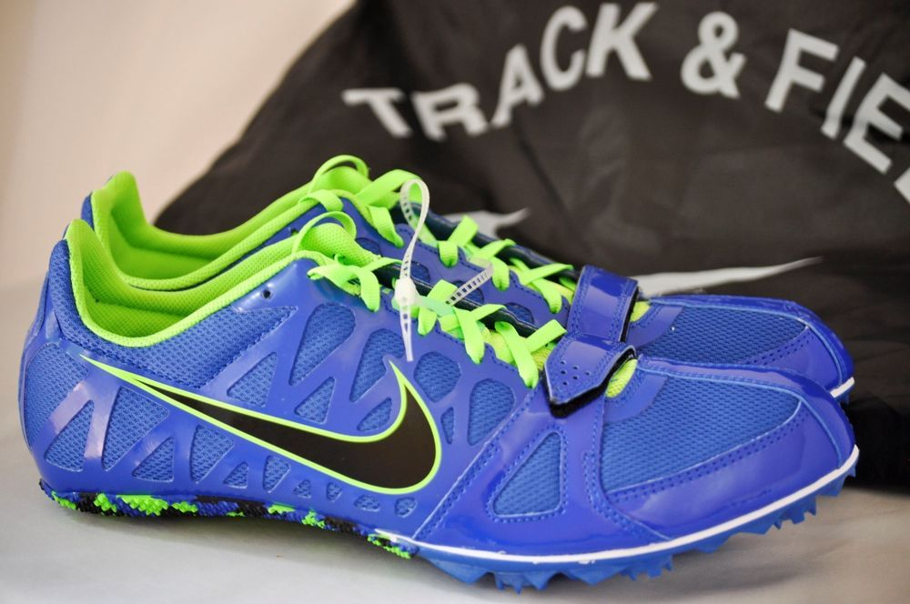 huge discount 529db 99a54 NEW Nike Zoom Rival S 6 Track Running Spike Men Shoes Royal Blue, size 11.5   Nike  TrackRunningSpikeshoes