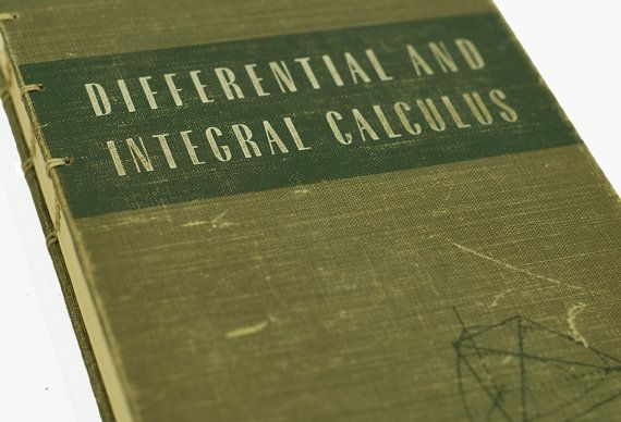 vintage calculus book #education