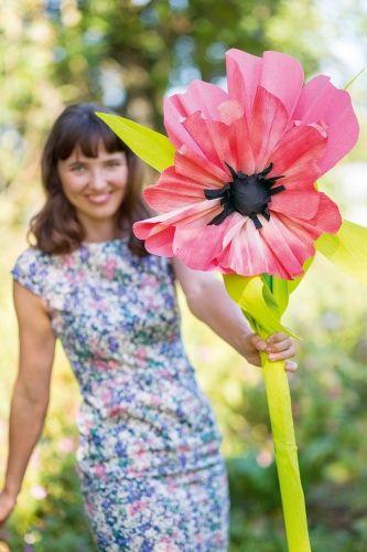 Tischdeko Zur Hochzeit Ideen Und Tipps Blumen Aus Krepppapier Blumen Aus Papier Papierblumen