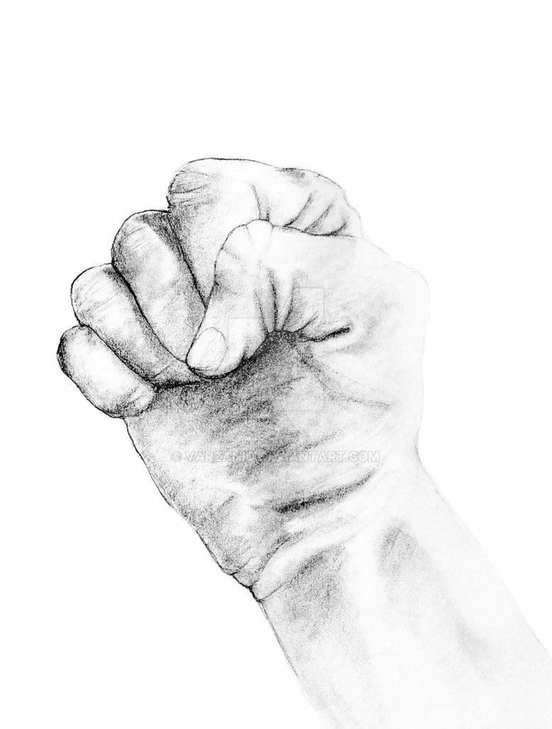 Fist by varzanic deviantart com on deviantart hand drawing pencil sketch figurative art artwork