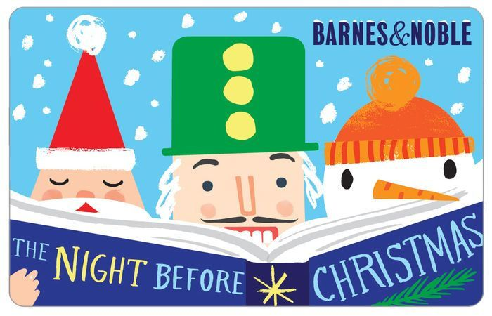 barnes noble gift card christmas
