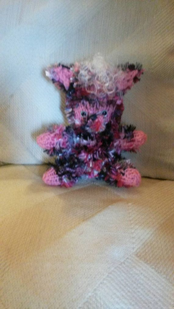 Check out this item in my Etsy shop https://www.etsy.com/listing/208600396/plush-werewolf-monster-multicolor-pink