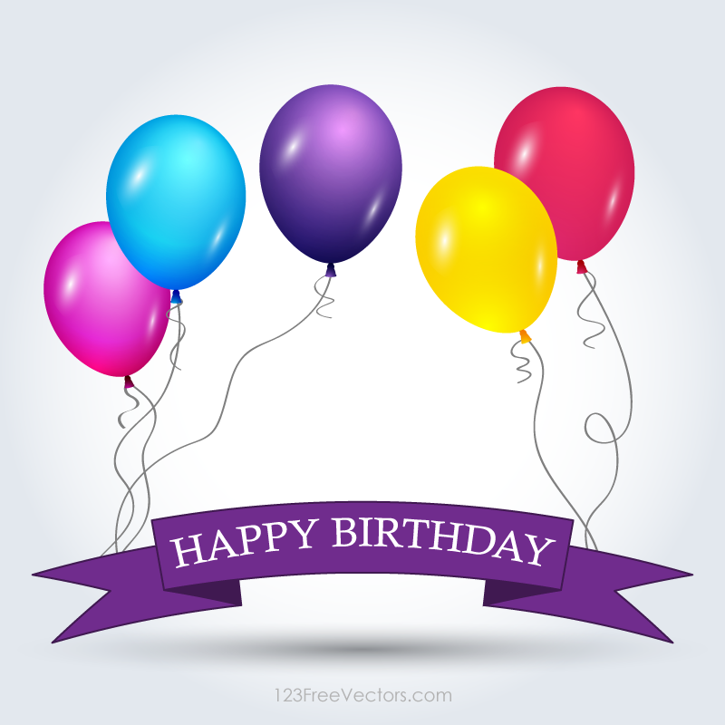 Happy Birthday Banner Template Free  Happy Birthday Card Template Free Download