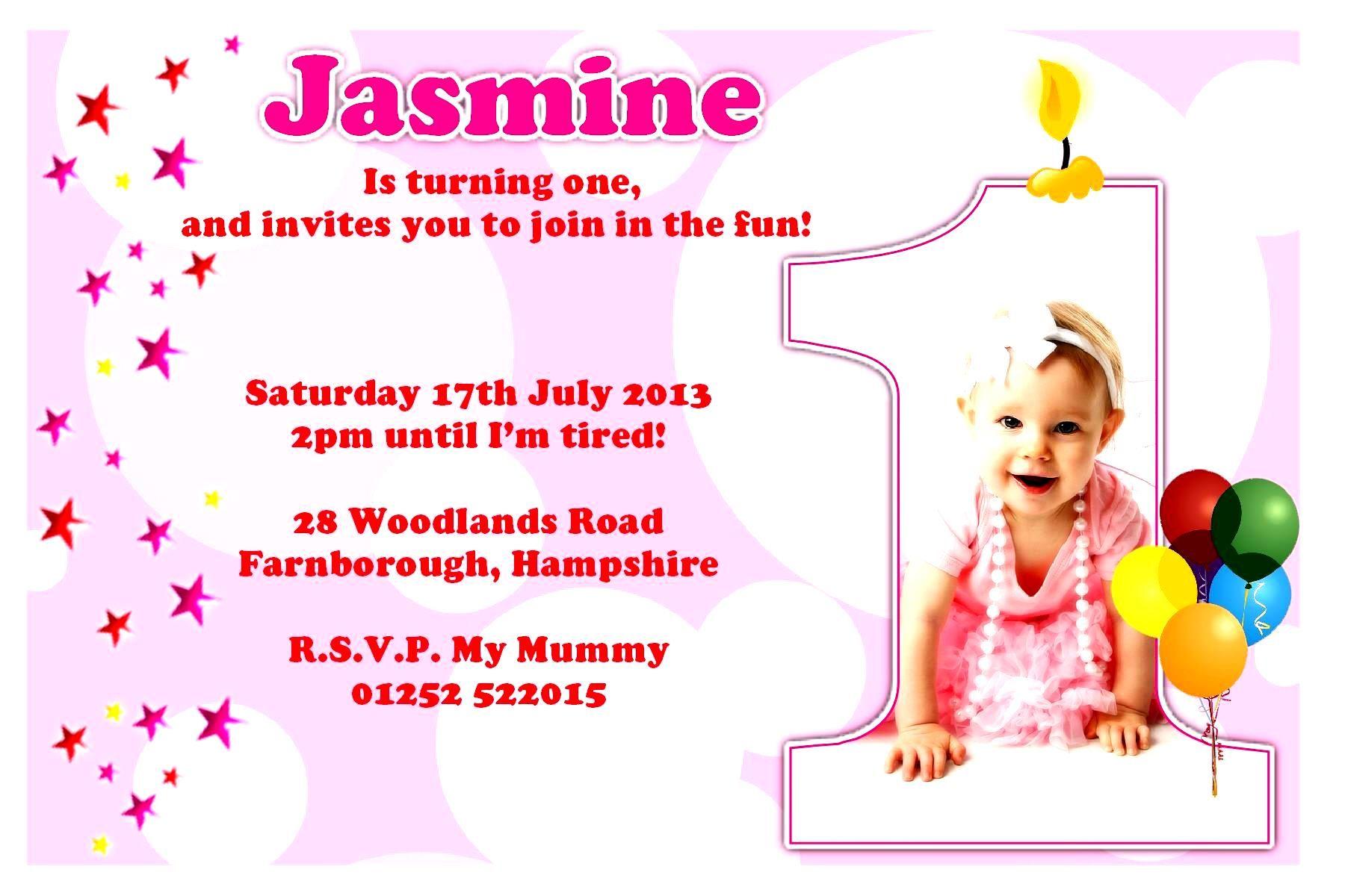 Birthday Card Sample Invitation  Happy birthday invitation card