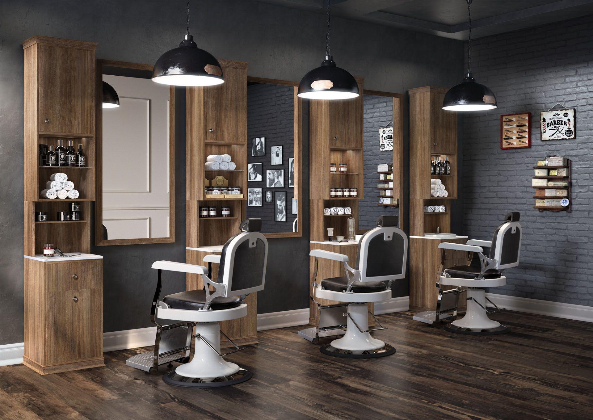Ides Dco De Salon De Coiffure Salon Dander
