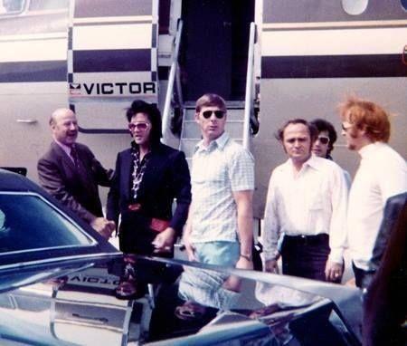 Elvis - and the entourage