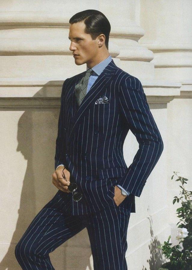 9a1b362757f8 Chalk Stripe Suit Ralph Lauren