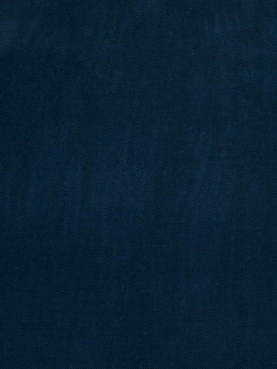 Navy Blue Texture Plain Contemporary Velvet Upholstery